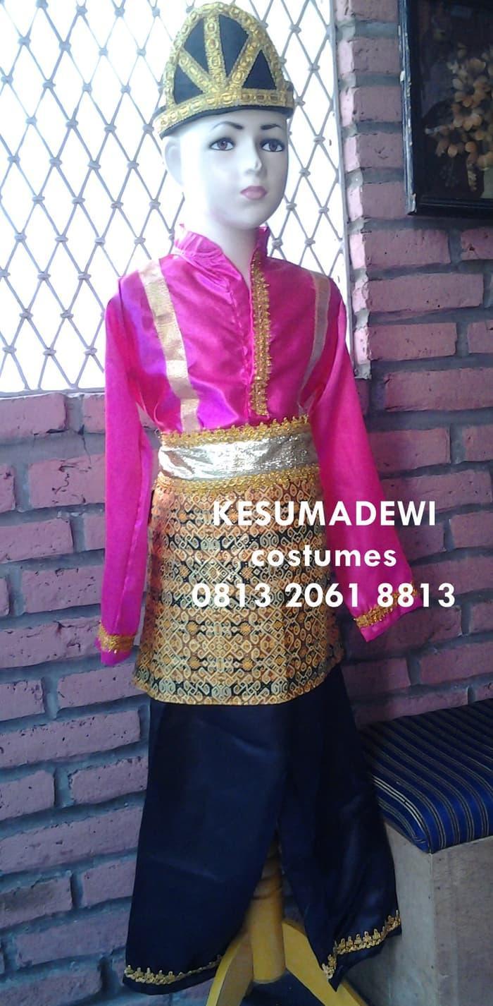 Promo: Tari Saman Anak Tk |Baju Adat Karnaval Kostum Tradisional Daerah Aceh - ready stock
