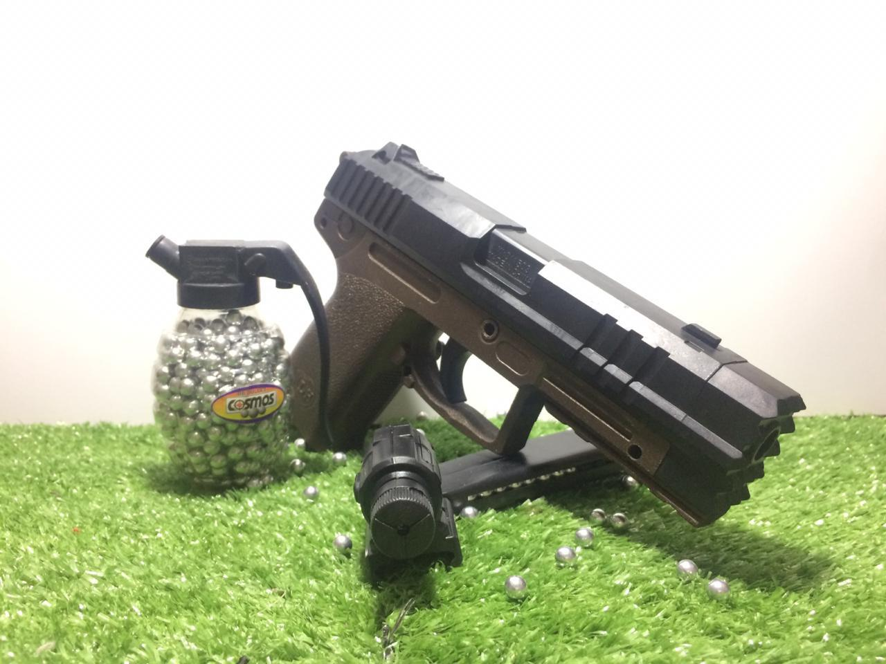 Buy Sell Cheapest Got It Glock Best Quality Product Deals Sarung Pistol Holster Tempat Airsoft Makarov Airsoftgun Baretta Hk Usp Spring Laser Pemberat Bb 500 Pcs