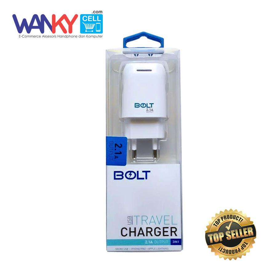 Jual Produk Bolt Terbaru Modem Lcd Slim Unlock All Gsm Travel Charger 21a Output Usb Fast Charging With Kabel Data 3in1 For Smartphone