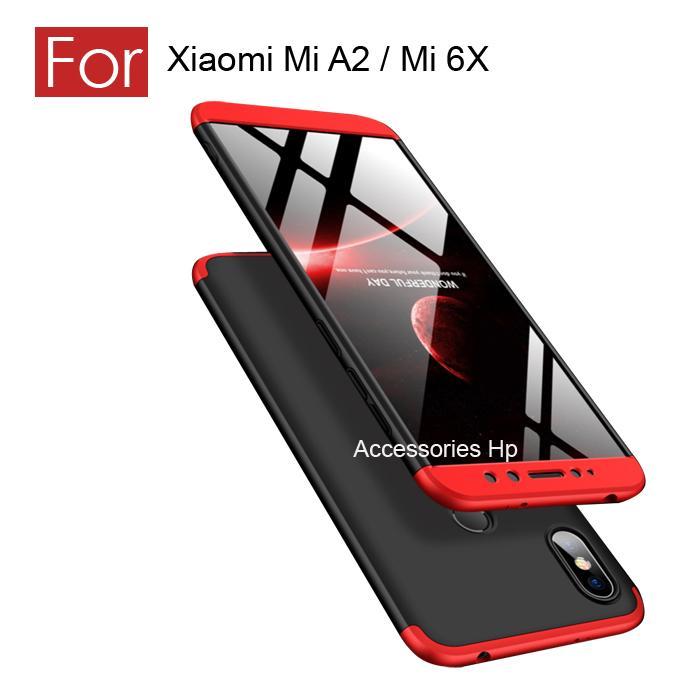 Accessories Hp CASE GKK Hardcase 360 Full Protective For  Xiaomi Mi A2 / Mi 6X