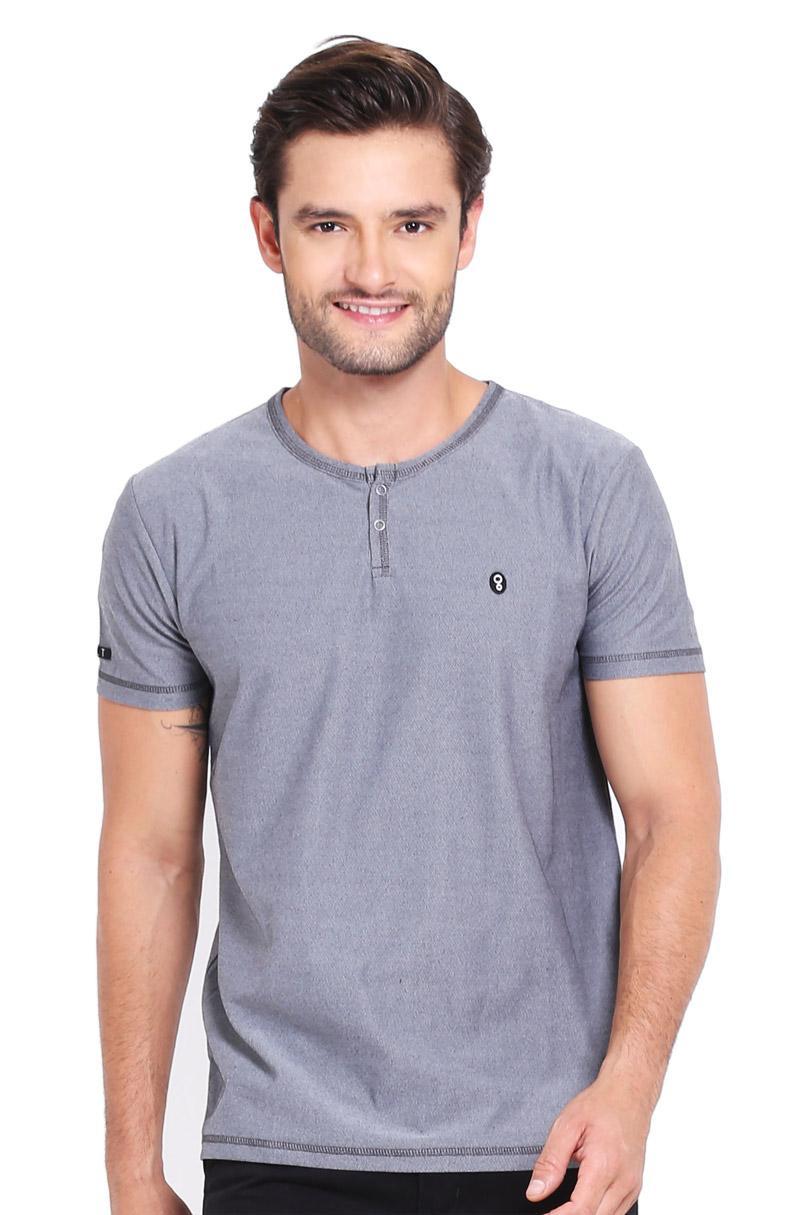 Greenlight T-Shirt Kaos Pria Men Tshirt Grey