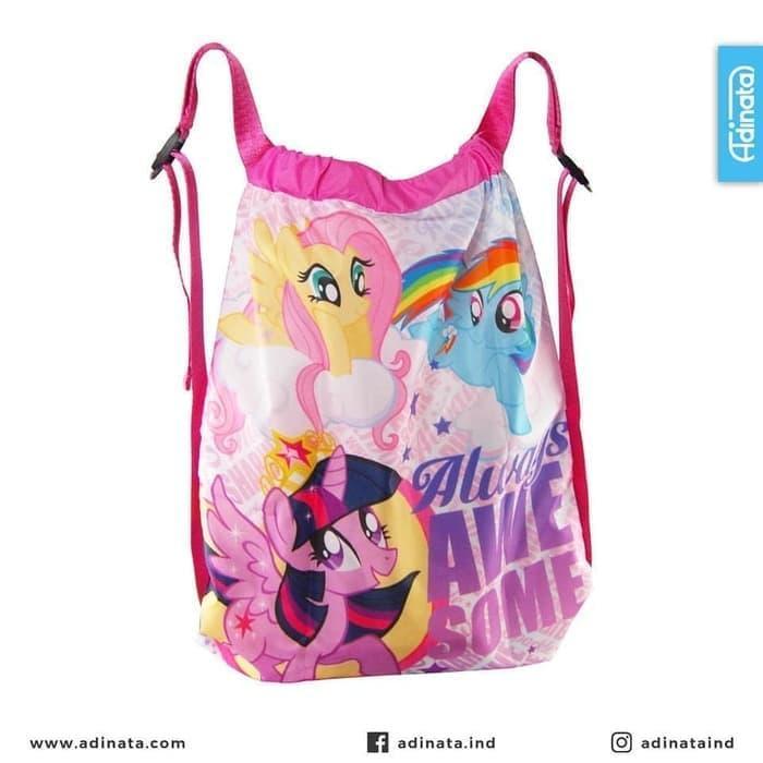 Tas Serut My Little Pony - Bag Adinata Karakter Anak Les Sekolah