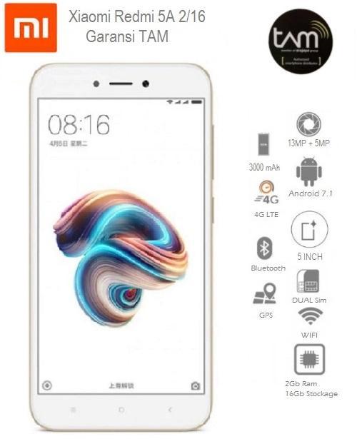 Xiaomi Redmi 5A 2/16 Garansi TAM