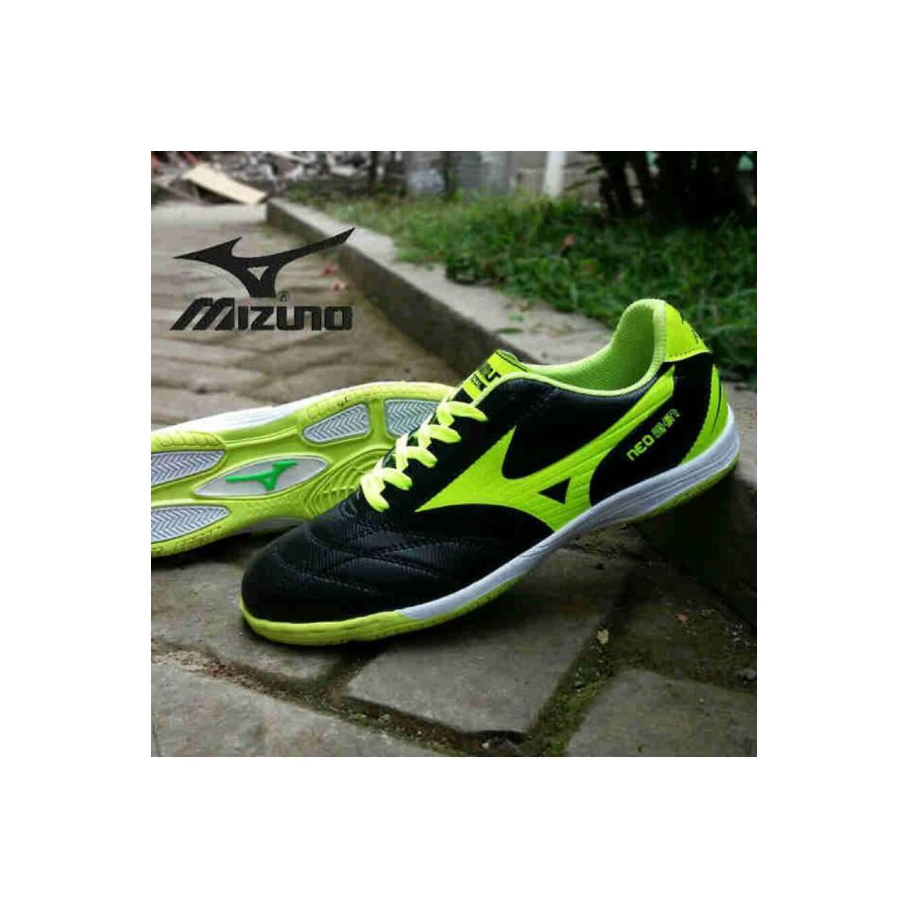Jual mizuno futsal pria hitam Baru | Sepatu Futsal Original Model Te