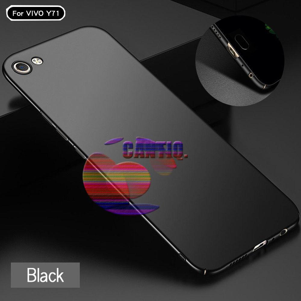 Rp 18.900. Case Vivo Y71 Hard Slim Black Mate Anti Fingerprint Hybrid Case Baby Skin Vivo Y71 ...