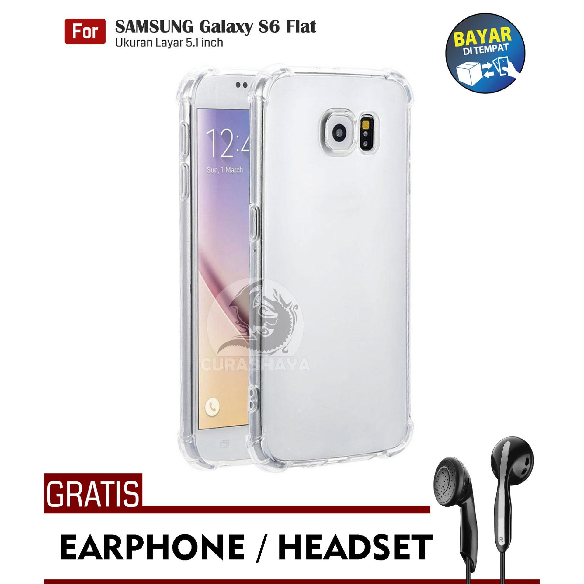 AirShock Samsung Galaxy S6 Flat (G920) / Duos | Anti Crack Premium Softcase Cushion
