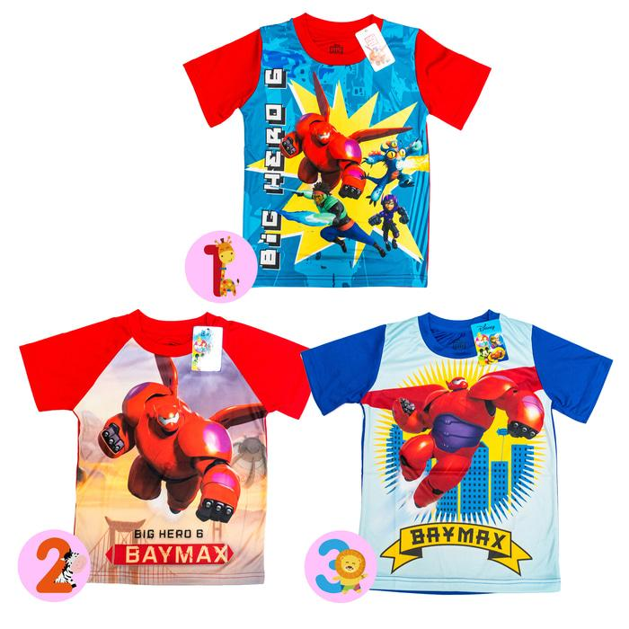 Disney ORI Kaos Anak Laki Laki - Big Hero 6 Baymax