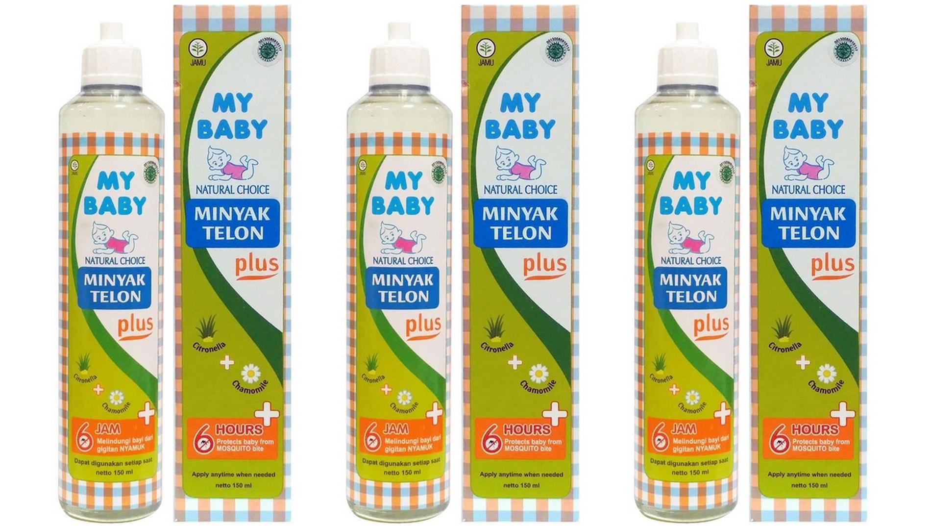 Hot Item My Baby Minyak Telon Plus 150 Ml 3 Pcs Daftar Harga Paket Hemat Longer Protection 60ml 3pcs Mtk040