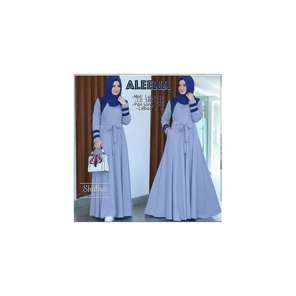 Jual Murah Baju Muslim Murah/Grosir Baju Muslim Murah/Aleena Dress PR001