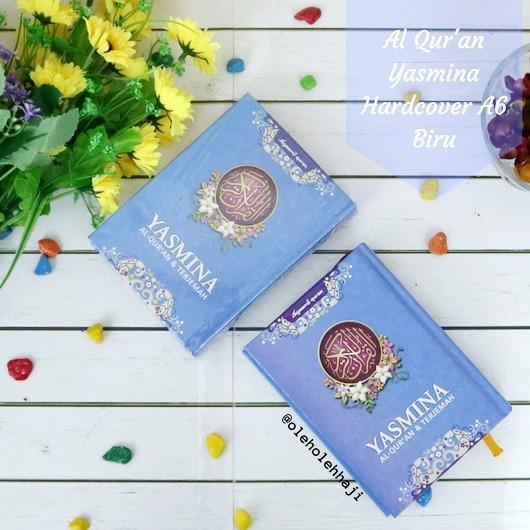 Al Quran Yasmina Rainbow Hardcover A6 Biru