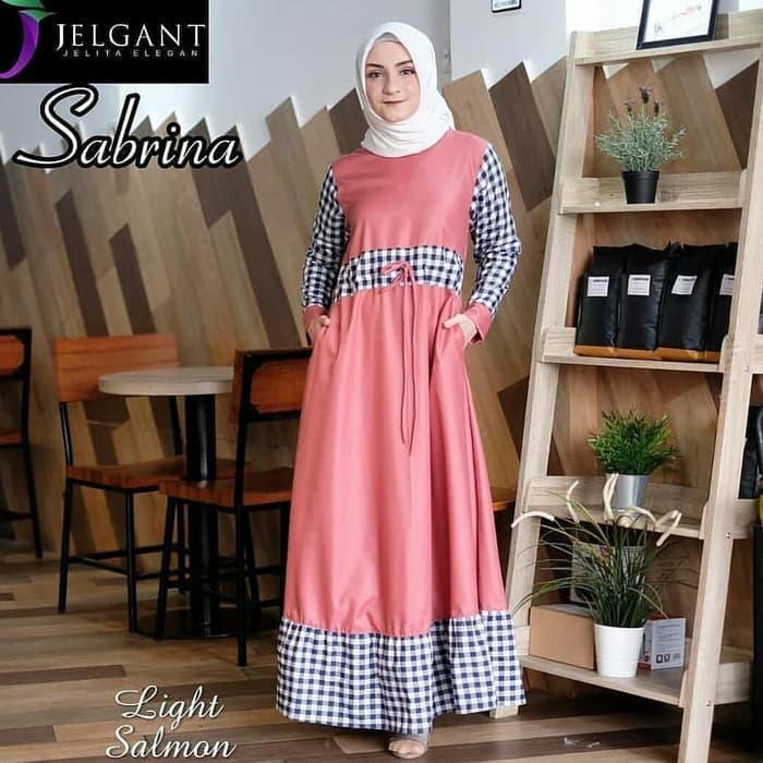 Pakaian Wanita Muslim Sabrina SyariIDR150000. Rp 154.440 .