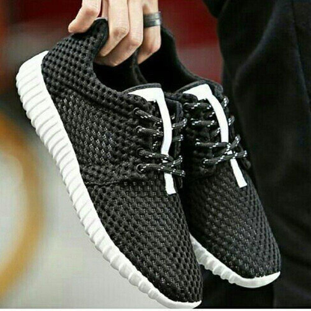 Sepatu murah Kets Jaring Kanvas sol Putih Termurah Di Lazada
