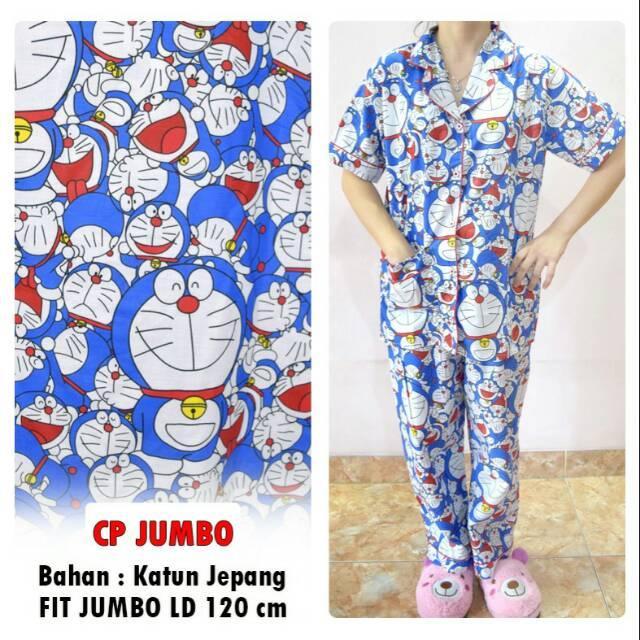 Piyama Jumbo Doraemon Big Xxxl