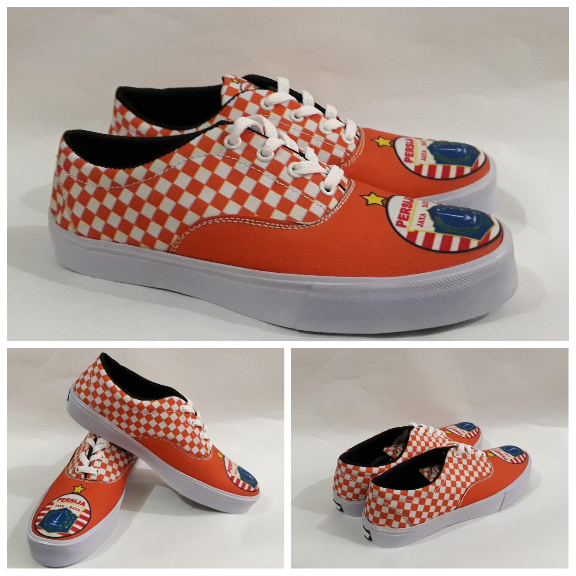 Sepatu Sneakers Printing Original Persija Jakarta