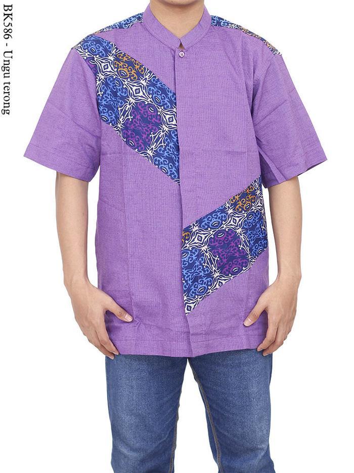 Popularitas Terlaris baju koko albatar batik/koko batik/kemeja batik/baju koko dewasa