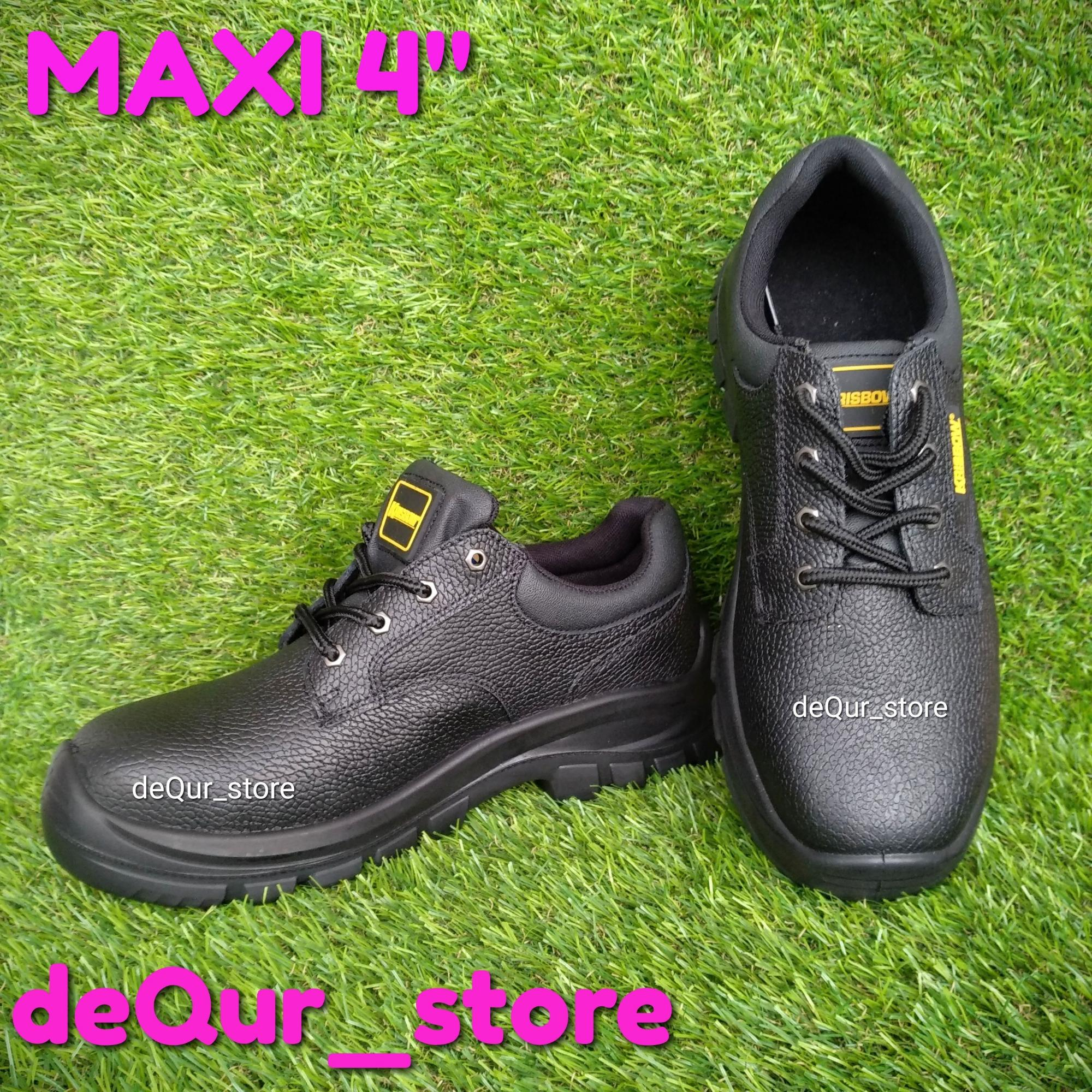 Safety shoes krisbow tipe Maxi 4 inch sepatu pengaman krisbow tipe MAXI 4  inch dedbfaca17