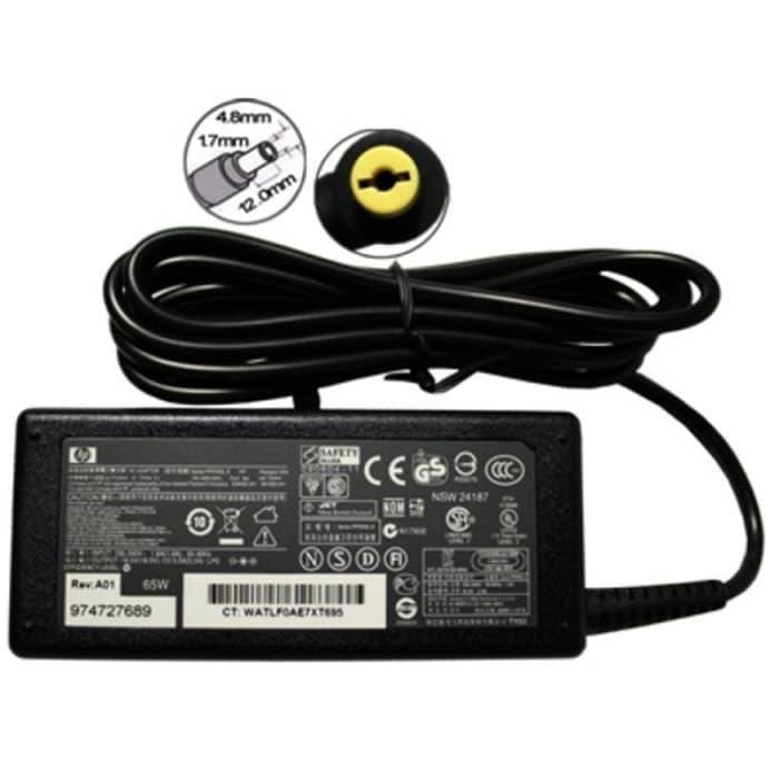 Sedang Diskon!! Adaptor Charger Original Laptop Hp18.5V 3.5A Hp Compaq 510 V3000 Cq510 - ready stock