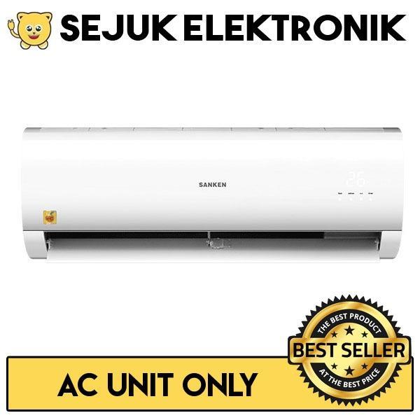 Sanken ELA-06 AC Split Low Watt 1/2 PK Putih (KHUSUS JAKARTA)