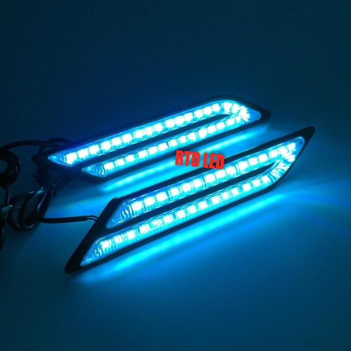 Led Drl Lampu Mobil Cahaya Bright S5 Cahaya Ice Blue R032 By Rtd Led.