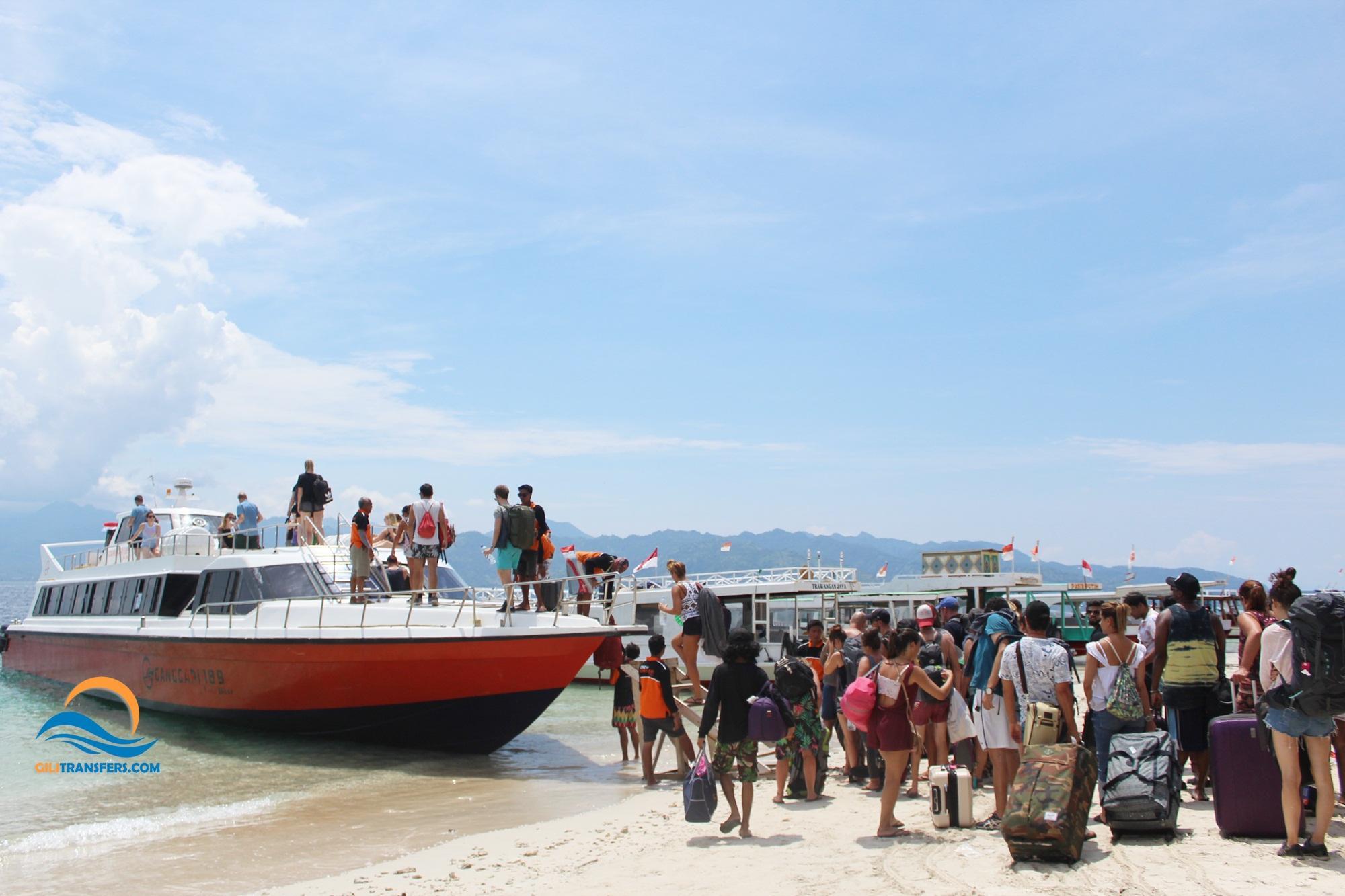 Bali (Padangbai) to Gili Trawangan - Fast Boat Tickets
