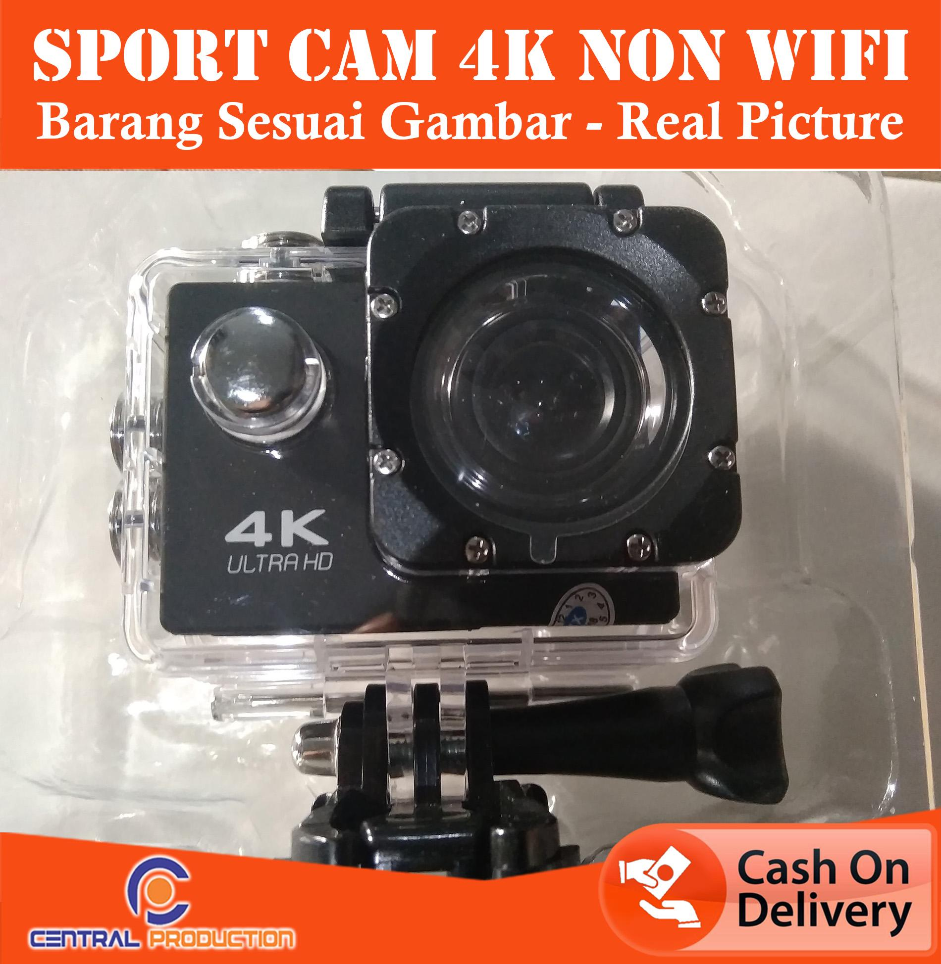 ACTION CAM / Kamera Aksi 4K Sports Cam 1080P / Action Camera FULL HD Non Wifi REAL PICTURE