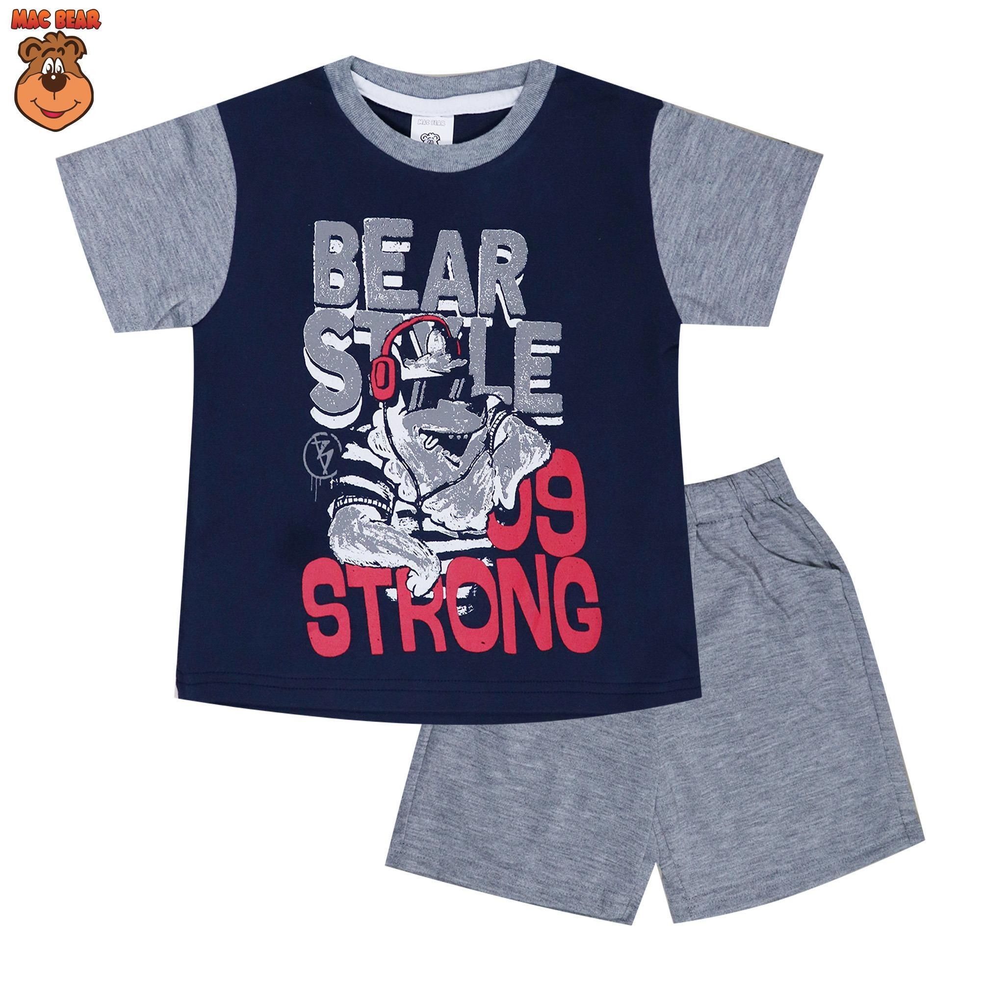 MacBear Kids Baju Anak Setelan Bear Style Cool