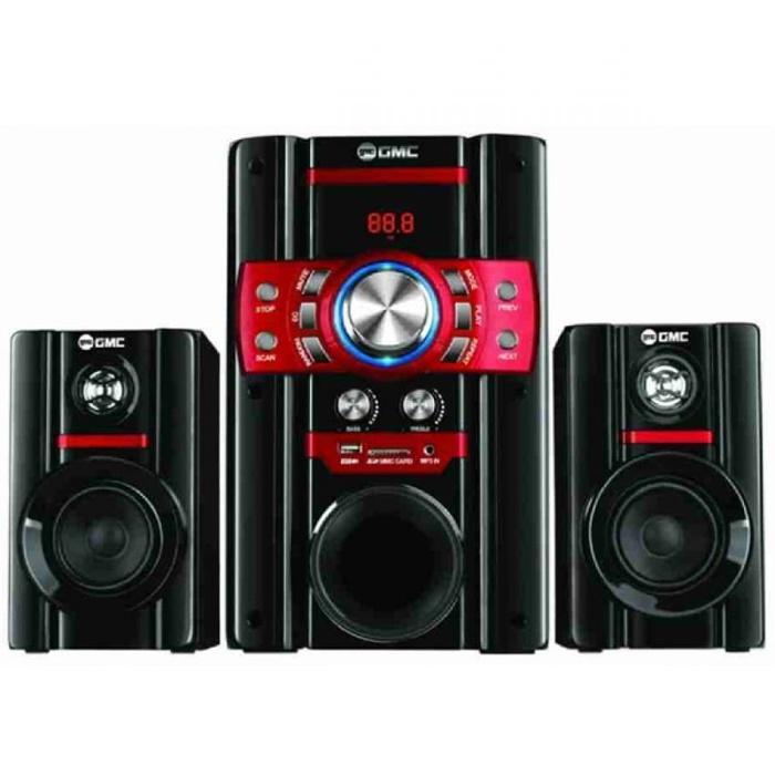 Referensi GMC 888S Multimedia Speaker Aktif 105WRMS Active Subwoofer System 2.1 speaker aktif / speaker laptop / speaker super bass