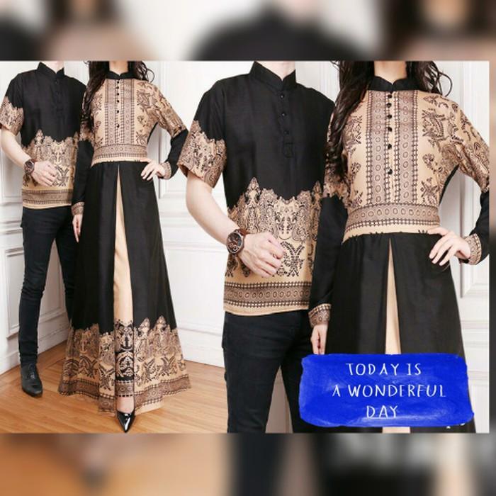 Cuci Gudang !!!    Couple Baju Muslim Couple New Elegan Batik Elegant Era Harga Sepasang