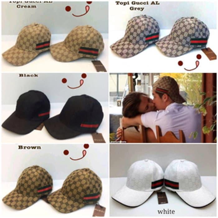 Sedang Diskon!! Topi Gucci Al And Cr7 Super Premium (Recommended Quality) - ready stock