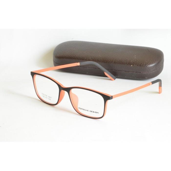 Kacamata Minus Pria Wanita (Frame+Lensa) Porsche 1667