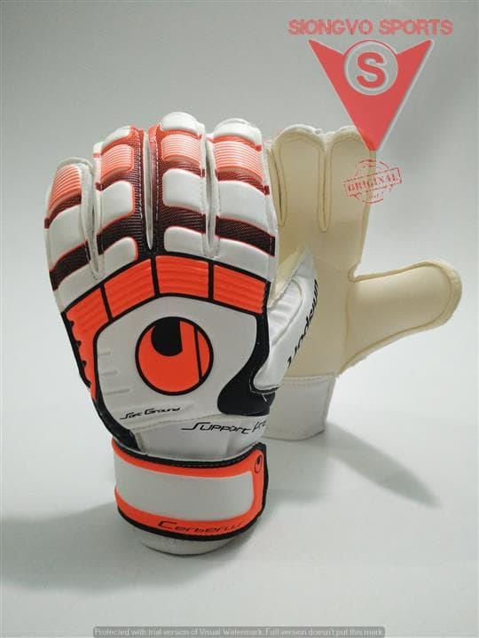 Hemat 10%!! Sarung Tangan Kiper - Uhlsport Cerberus Sf Junior Original #100037001 - ready stock