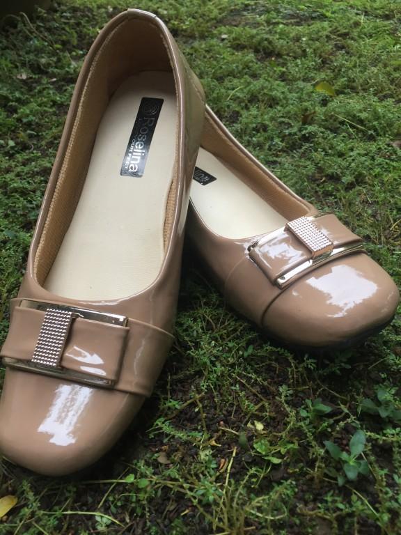Rembulan Flatshoes Formal Wanita Mocca