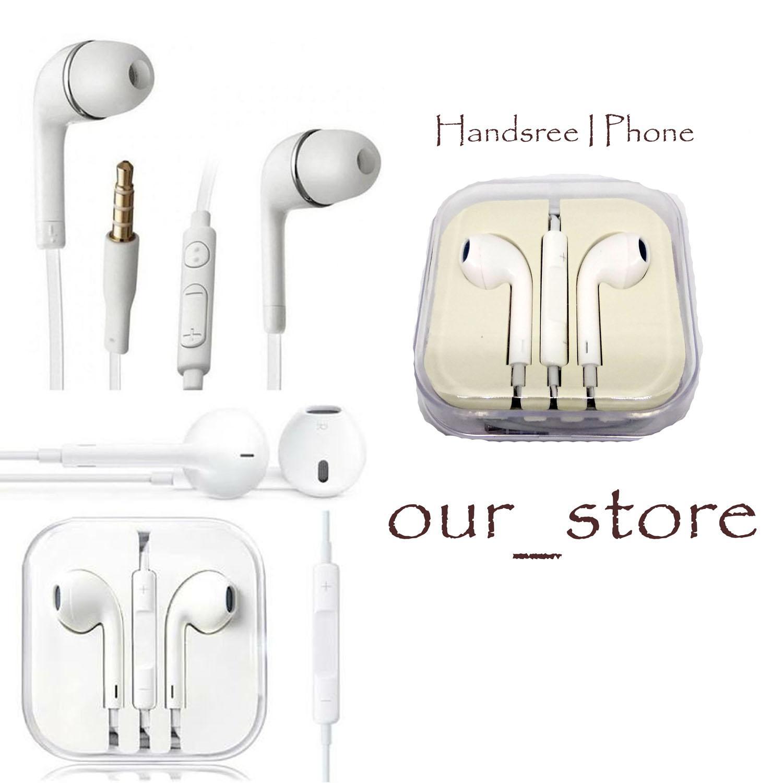 PROMO Headset Earphone Iphone Putih Paling Murah Kualitas Terbaik