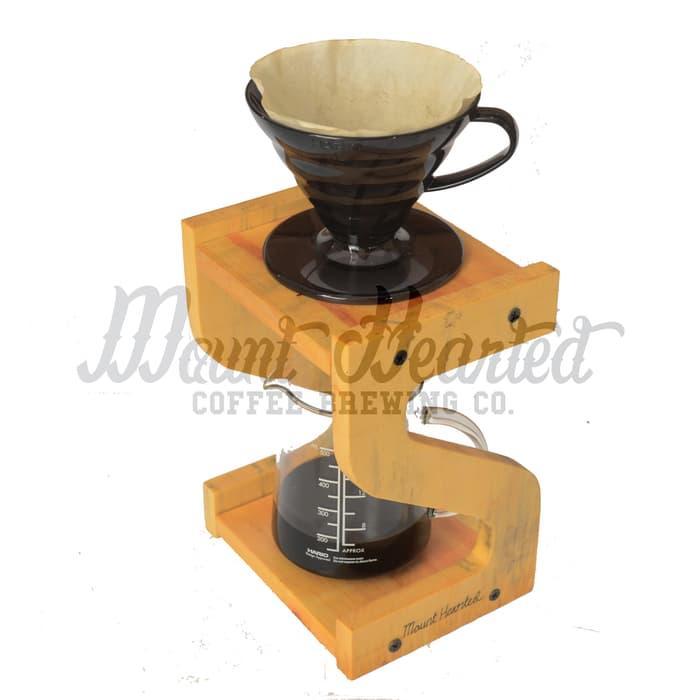 SALE - Pour Over Coffee Stand for V60, Vietnam Drip, Aeropress, Single Tinggi