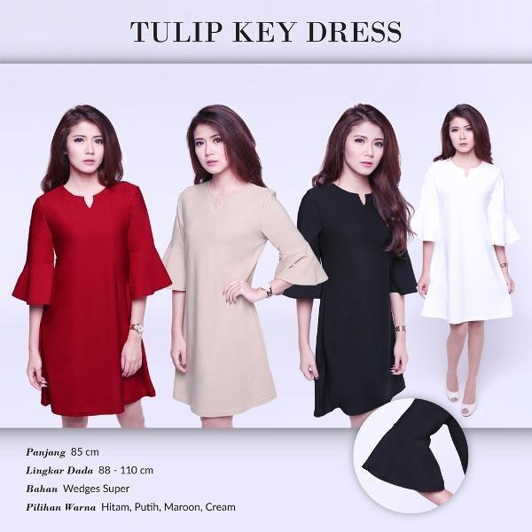 Tulip Key Dress DS804
