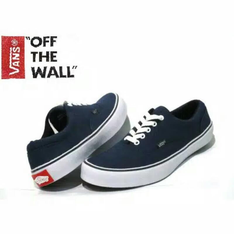 Sepatu Sneakers Pria wanita Vans Authentic Casual sekolah 8164022a81