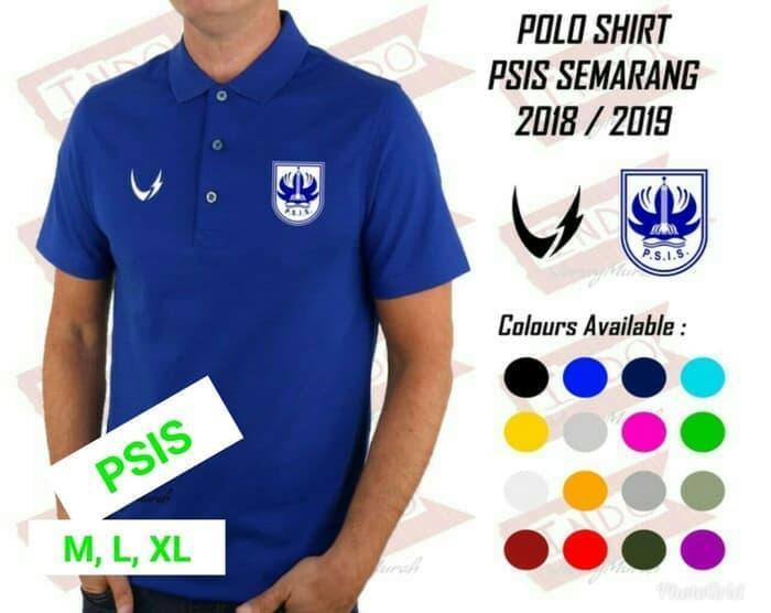 HARGA PROMO!!! Polo Shirt PSIS semarang Official 2018 2019 - STGXY4