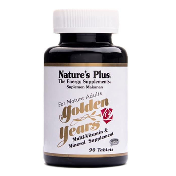 HARGA DISKON!!! Nature's Plus Golden Years multivitamin & mineral 90 tablets - 1KK6ZO
