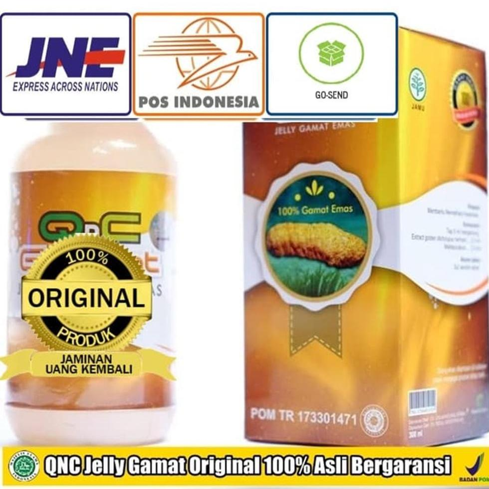 QnC Jelly Gamat Multikhasiat - Toko Acep Herbal Karawang