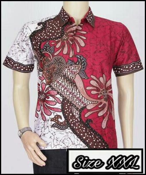 Model Baju Batik Ukuran Jumbo XXL Baju Batik Besar Kemeja Batik Size Jumbo Sekar