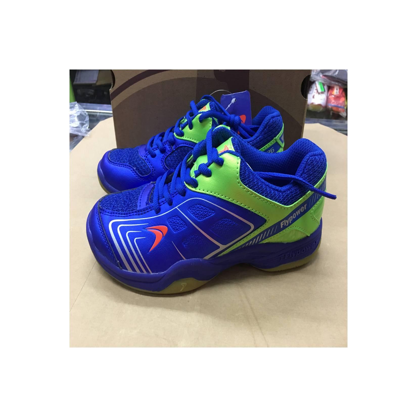 Sepatu Badminton Flypower Plaosan 4 Royal Blue