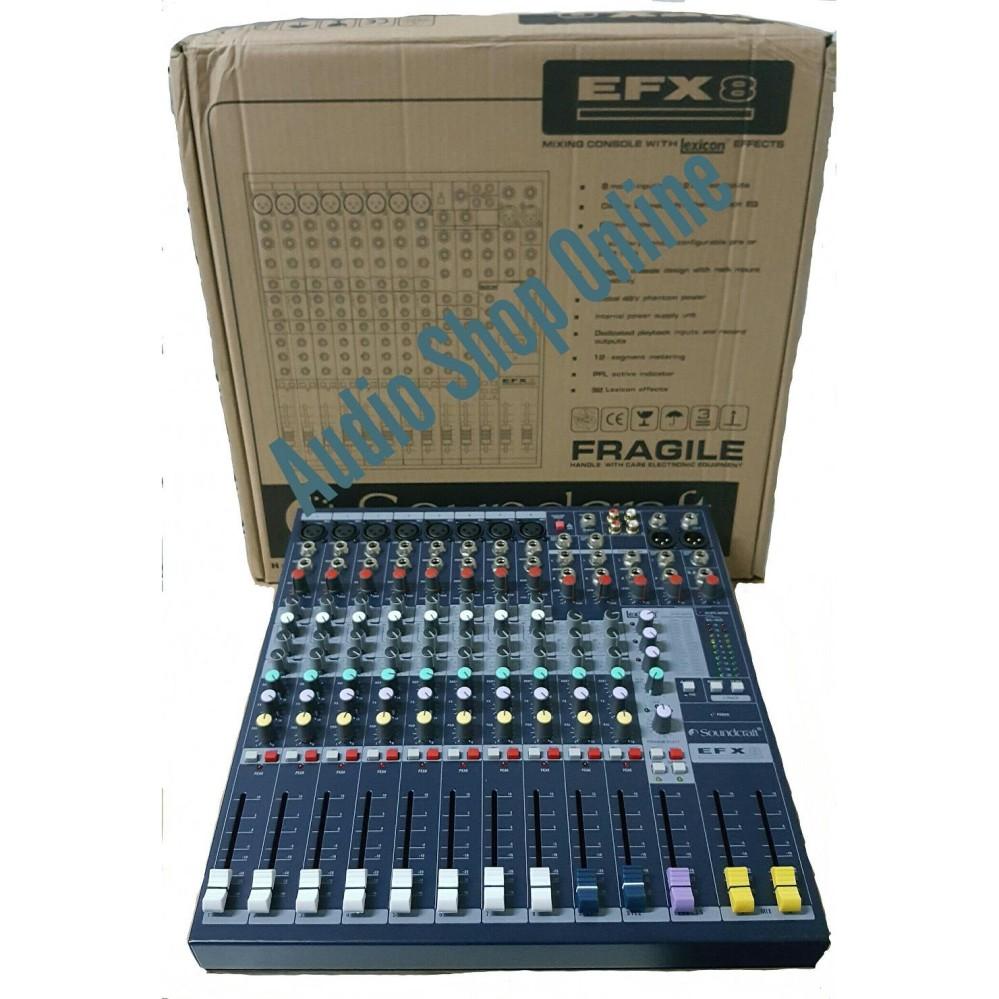 Audio Mixer Soundcraft EFX 8