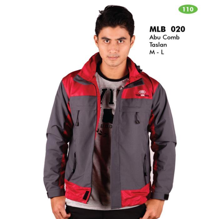 Jaket Gunung Outdoor Warna Abu handmade Bandung Murah - inner polar W