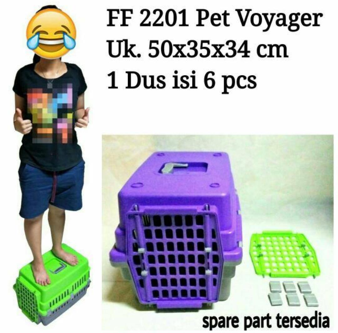 Pet carrier Pet Voyageur FF 2201 Green,Blue,Purple
