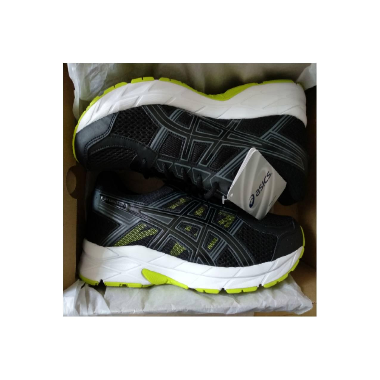 Asics Kanmei Mens Running Shoes Standard Wide Hitam - Daftar Harga ... a87a69786c
