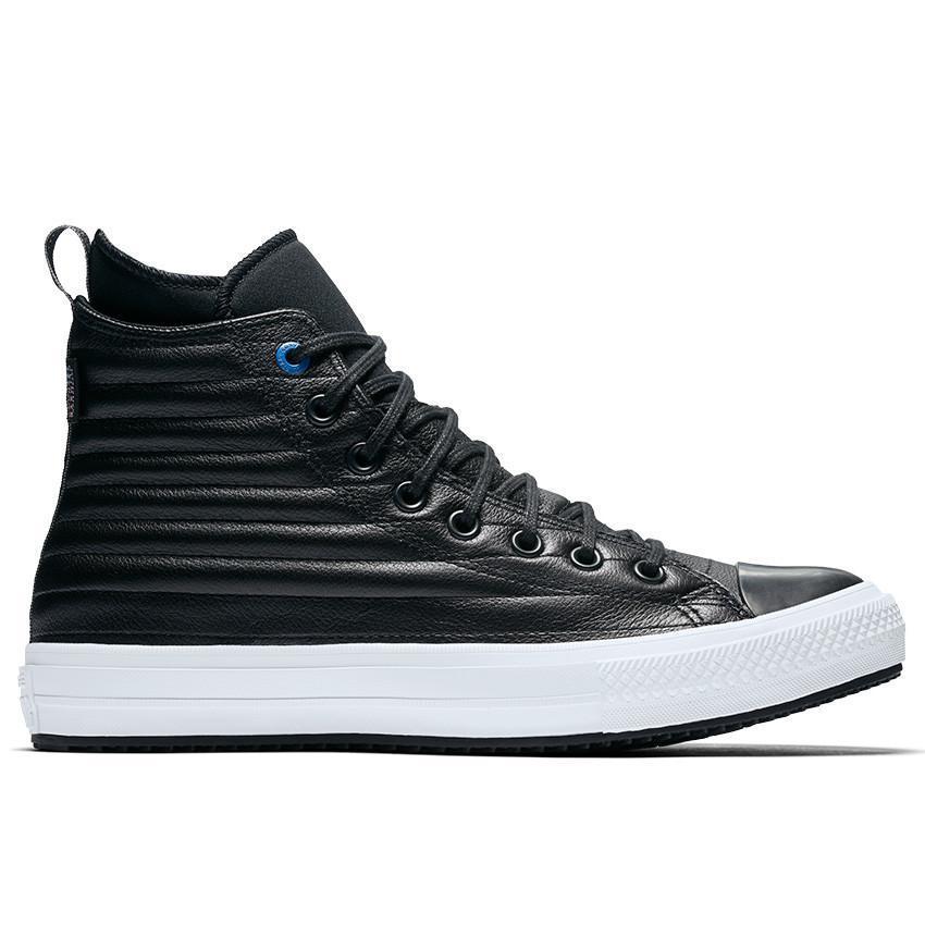3e2217d08d408a Converse Sepatu Boot Kulit Chuck Taylor All Star Pria - Hitam