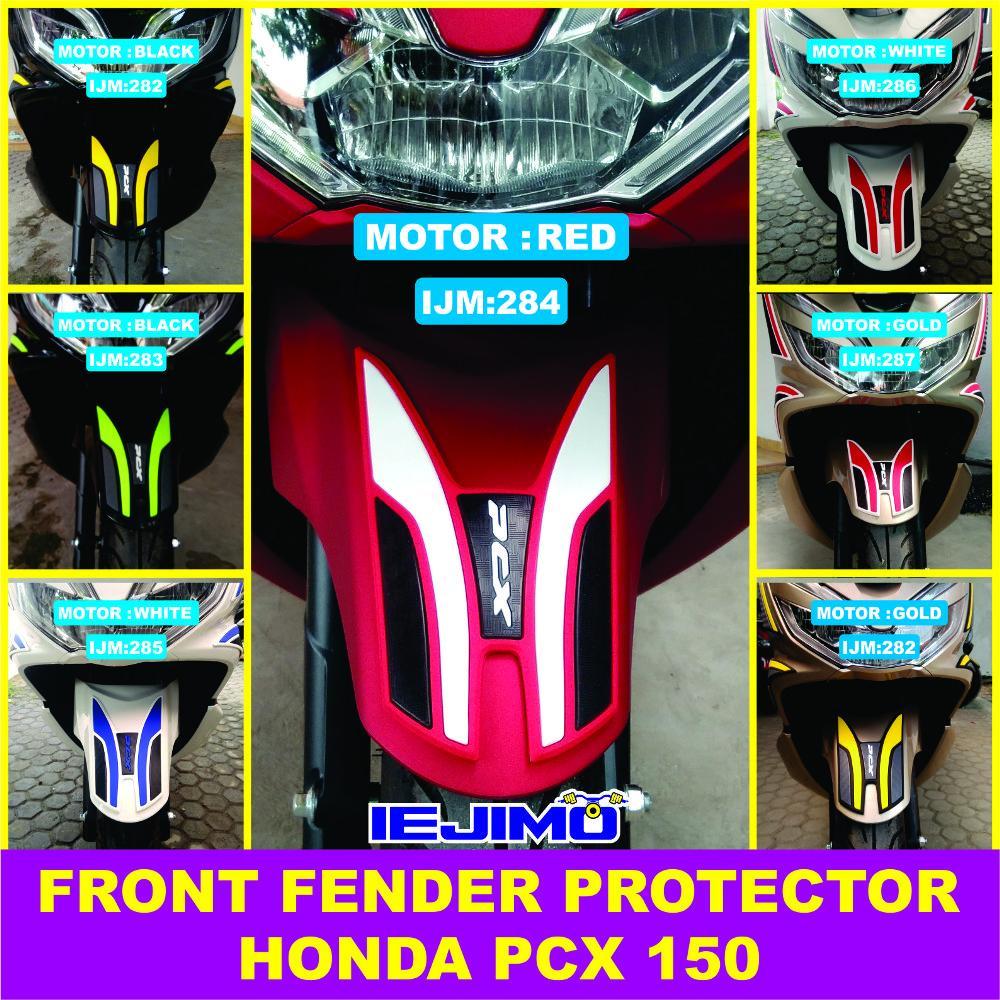 FRONT FENDER PROTECTOR ALL NEW HONDA PCX 150 - PEINDUNG SPAKBOR DEPAN PCX 150 - STRIPING