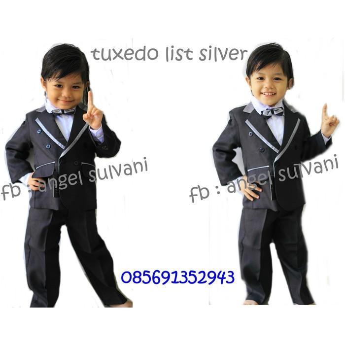 Baju Pesta Anak Laki Setelan Jas Tuxedo Anak Bayi - Tpht8q