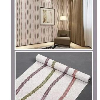 Pencarian Termurah Wallpaper Stiker Dinding Motif Dan Karakter Premium Quality Size 45cm X 10M ULIR 3 GARIS PELANGI sale - Hanya Rp43.835