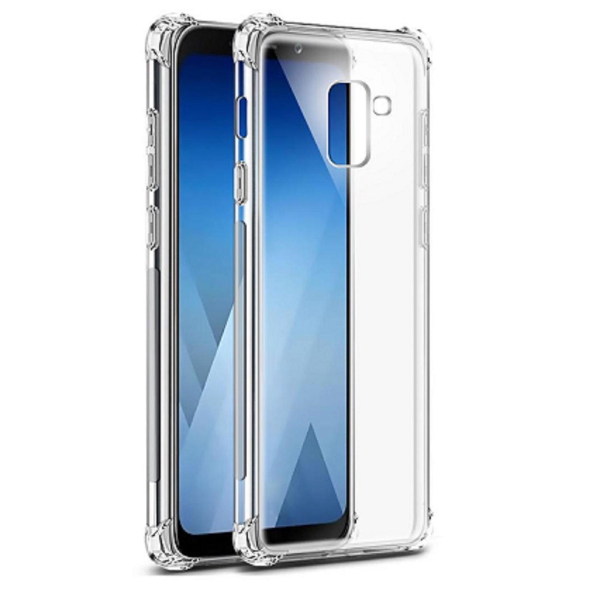ShockCase for Samsung Galaxy A8 (2018) / A530 / A530F / 4G LTE / Duos | Premium Softcase Jelly Anti Crack Shockproof - Transparan